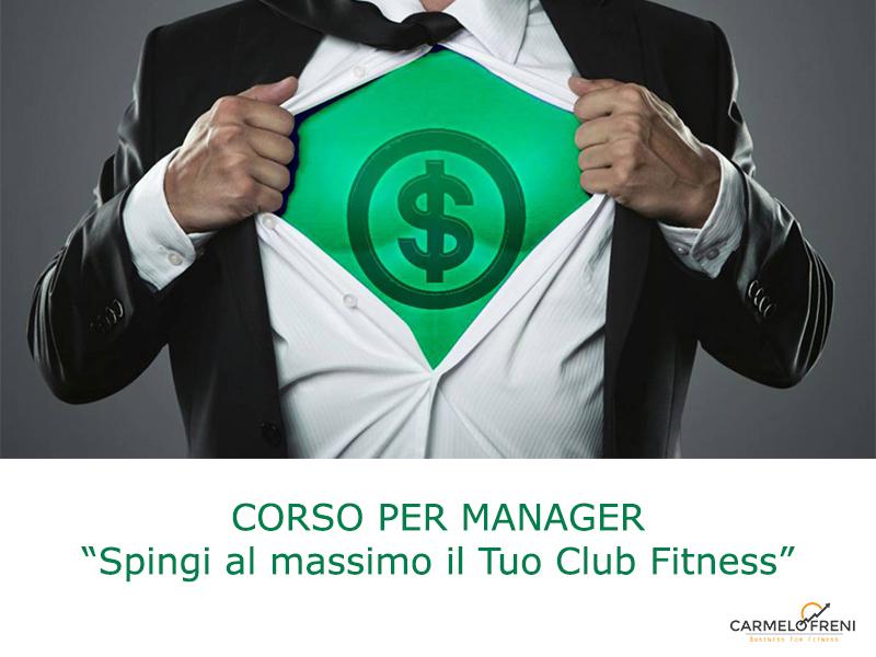 CORSO GESTIRE un club fitness